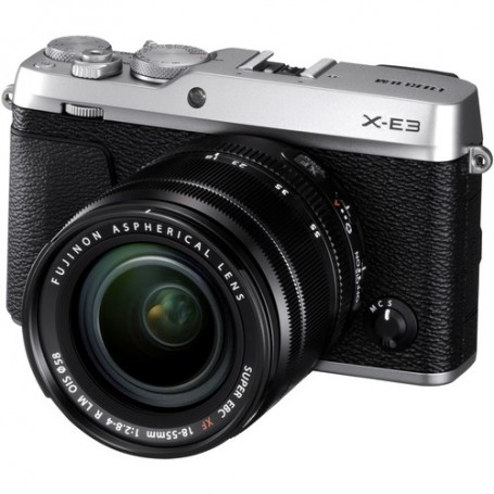 Fujifilm X-E3 + XF 18-55mm (Silver)