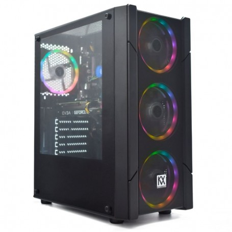 PC Gaming KVX Phobos 1 Intel Core i5-10400/ 16GB/ 256GB SSD + 1TB/ GeForce RTX 3070/ FreeDOS