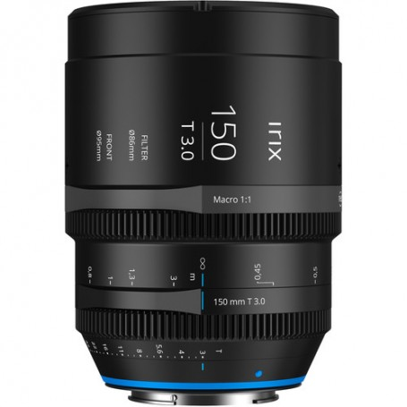 Irix 150mm T 3.0 macro 1:1 Cine lens