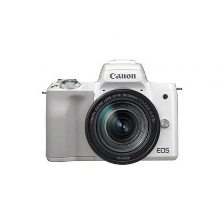 Canon EOS M50 White Kit (EF-M 18-150mm STM Silver)