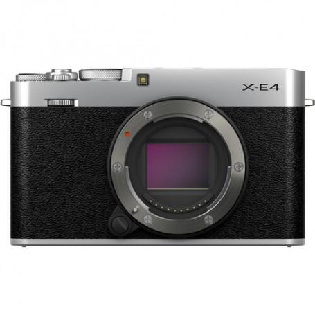 Fujifilm X-E4 Plata- Cuerpo