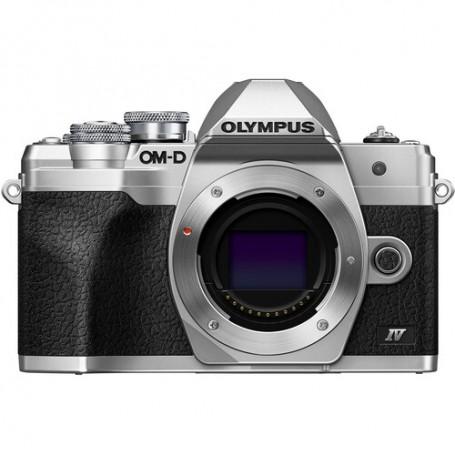 Olympus OM-D E-M10 Mark IV - Plata