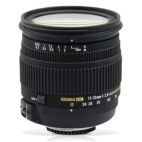 Sigma 17-70mm f/2.8-4 DC OS HSM for Nikon