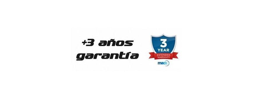 +3 años Extensión de garantía Mack