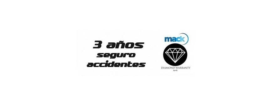 3 años Seguro de accidentes Mack Diamond Warranty