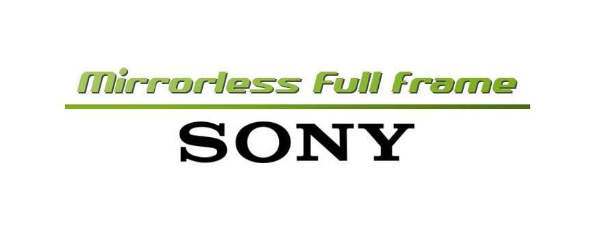 Sony  Mirrorless Full Frame