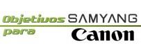 Samyang lenses for Canon