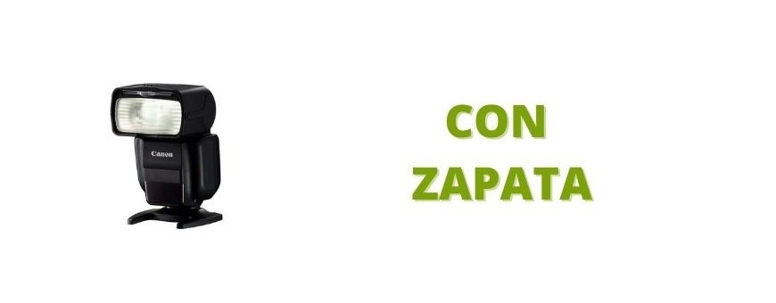 Flashes con zapata