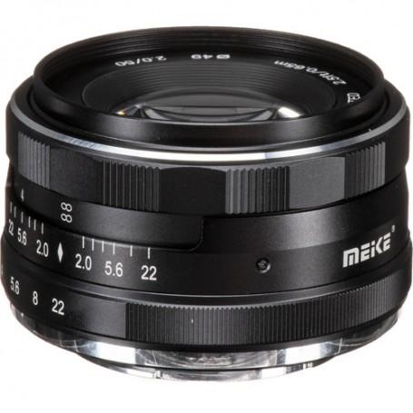 Objetivo Meike 50mm